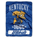 "Kentucky ""Varsity"" Micro Raschel Throw"