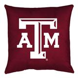 Texas A&M Aggies Locker Room Decorative Pillow