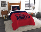 "Los Angeles Angels MLB ""Grand Slam"" Twin Comforter Set"
