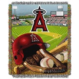 "Los Angeles Angels MLB ""Home Field Advantage"" Woven Tapestry Throw"