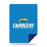 "Los Angeles Chargers NFL ""Denali"" Sliver Knit Throw"