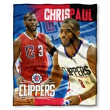 Los Angeles Clippers Chris Paul NBA Players HD Silk Touch Throw