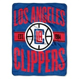 "Los Angeles Clippers NBA ""Clear Out"" Micro Raschel Throw"