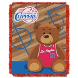 "Los Angeles Clippers NBA ""Half-Court"" Baby Woven Jacquard Throw"