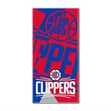 "Los Angeles Clippers NBA ""Puzzle"" Oversized Beach Towel"