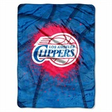 "Los Angeles Clippers NBA ""Shadow Play"" Raschel Throw"