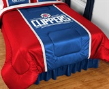 Los Angeles Clippers Sidelines Comforter Queen