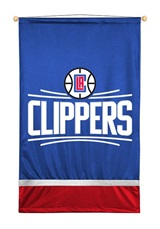 Los Angeles Clippers Sidelines Wall Hanging
