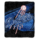 "Los Angeles Dodgers  MLB ""Big Stick"" Sherpa Throw"