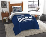"Los Angeles Dodgers MLB ""Grand Slam"" Twin Comforter Set"