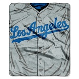 "Los Angeles Dodgers MLB ""Jersey"" Raschel Throw"