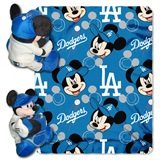 "Los Angeles Dodgers MLB ""Mickey"" Hugger with Throw"