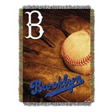 "Los Angeles Dodgers MLB ""Vintage"" Woven Tapestry Throw"
