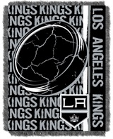 "Los Angeles Kings NHL ""Double Play"" Woven Jacquard Throw"