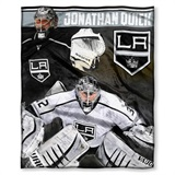Los Angeles Kings NHL Jonathan Quick Player Silk Touch Throw