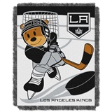 "Los Angeles Kings NHL ""Score Baby""Baby Woven Jacquard Throw"