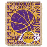 "Los Angeles Lakers NBA ""Double Play"" Woven Jacquard Throw"