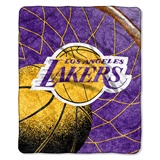 "Los Angeles Lakers  NBA ""Reflect"" Sherpa Throw"