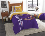 "Los Angeles Lakers NBA ""Soft & Cozy"" Twin Comforter Set"