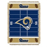"Los Angeles Rams ""Field"" Baby Woven Jacquard Throw"