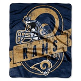 "Los Angeles Rams ""Grand Stand"" Raschel Throw"