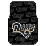 Los Angeles Rams NFL Car Floor Mat