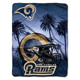"Los Angeles Rams NFL ""Heritage"" Silk Touch Throw"