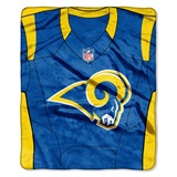 "Los Angeles Rams NFL ""Jersey"" Raschel Throw"