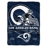 "Los Angeles Rams NFL ""Prestige"" Raschel Throw"