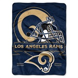 "Los Angeles Rams ""Prestige"" Raschel Throw"