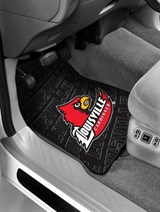 Louisville Car Floor Mat Set