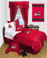 Louisville Cardinals Locker Room Bed In A Bag