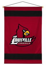 Louisville Cardinals Sidelines Wallhanging