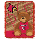 "Louisville ""Fullback"" Baby Woven Jacquard Throw"