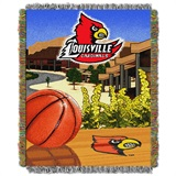"Louisville ""Home Field Advantage"" Woven Tapestry Throw"