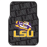 LSU Car Floor Mat Set