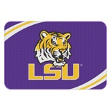 LSU Round Edge Bath Rug