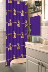 LSU Shower Curtain