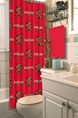 Maryland Terrapins NCAA Shower Curtain