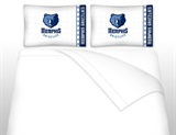 Memphis Grizzlies Micro Fiber Sheet Set Full
