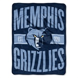 "Memphis Grizzlies NBA ""Clear Out"" Micro Raschel Throw"