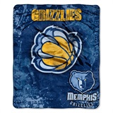 "Memphis Grizzlies NBA ""Dropdown"" Raschel Throw"