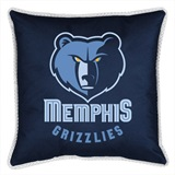 Memphis Grizzlies Sidelines Toss Pillow
