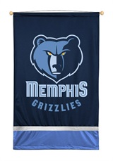 Memphis Grizzlies Sidelines Wall Hanging