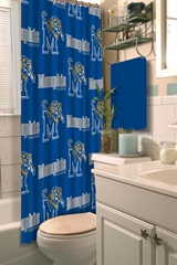 Memphis Tigers NCAA Shower Curtain