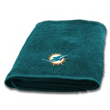 Miami Dolphins Appliqué Bath Towel