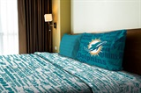 "Miami Dolphins NFL ""Anthem"" Twin Sheet Set"