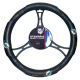 Miami Dolphins NFL Car Steering Wheel Cover