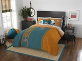"Miami Dolphins ""Soft & Cozy"" Full Comforter Set"