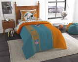 "Miami Dolphins ""Soft & Cozy"" Twin Comforter Set"